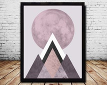 Geometric wall Art  Abstract  Art Prints Abstract Poster Geometric Wall Art