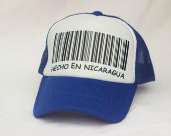 Hecho En Nicaragua Cap