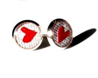 HEART EARRINGS - Toddler Earrings - Little Girl Earrings - I Love You Gift - Gifts for Girls - Kids Jewelry - Gifts Under 10