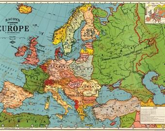 Cavallini Europe Map Paper
