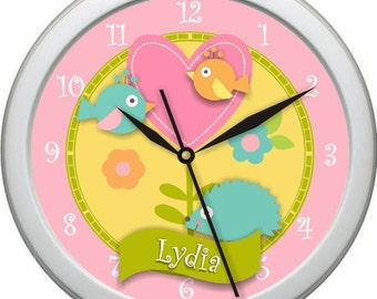"Happi Tree Personalized 10"" Nursery / Children Wall Clock"