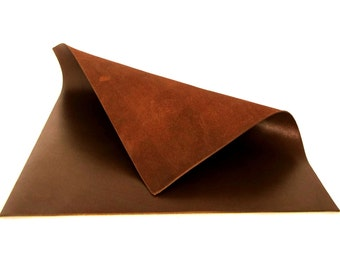 Old English Smooth Leather / Brown Leather / Chocolate Brown Leather