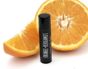 LOCAL listing for pick up only. Organic Lip Balm. Orange and Bergamot.