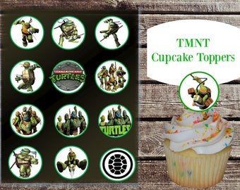 Marvel Tmnt Cupcake Toppers printable
