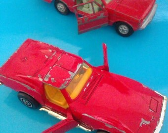 TWO DINKY CARS