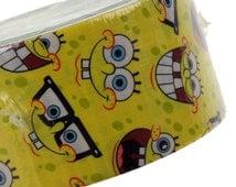 "4 Spongebob Squarepants Duck Duct Tape USA Wallet 1.88"" x 10 yd Crafts Decorating"