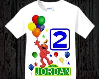 Elmo Birthday Shirt - Many Styles Available