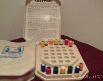 calypso vintage travel game