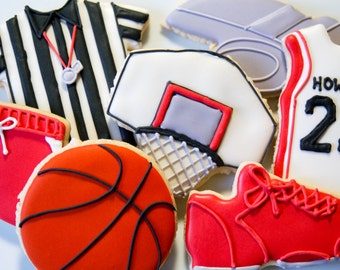 Basketball assorted cookies