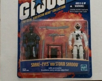 GIJOE Snake-Eyes & Storm Shadow twinpack