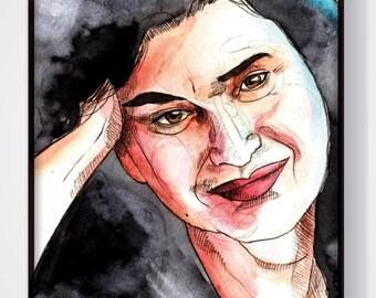 L. (Ilustración original enmarcada Todxs Vosotrxs)