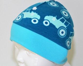 "Great handmade hat ""Tractor"""