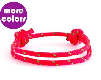 Simple Bracelet, Rope Bracelet, Paracord Bracelet, Adjustable Bracelet
