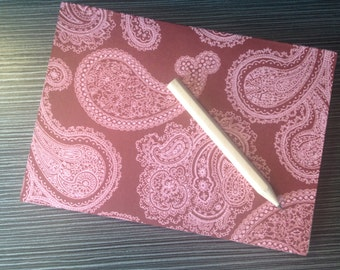 A6  'Perfect' Bound Hand Made Soft Back Note Book