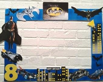 Batman Frame / Photo Booth / Photo Prop Digital File