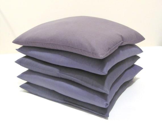 Organic Throw Pillow Inserts : Organic Throw Pillow Insert filled Buckwheat by HempOrganicLife
