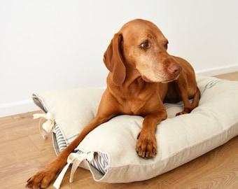 Grain Sack Dog bed - Large