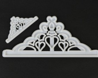 Tiara Cutter Crown Cutter Set of 2