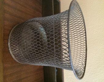 Vintage Nemco Wire Mesh Wastebasket