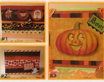 Halloween Handmade Cards (Your choice!)