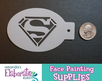 SUPER GUY - Face Painting Stencil (Mini)
