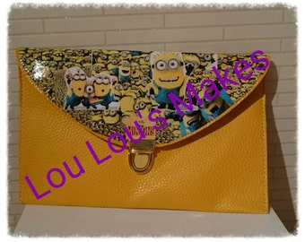 minion Clutch Bag