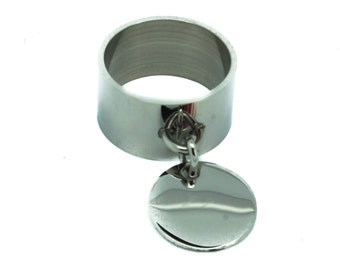 Pendant stainless steel ring