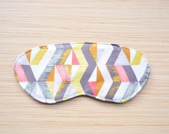 "Satin Sleep Mask Eye Mask Travel Accessory Stocking Stuffer - ""Kenzie"""
