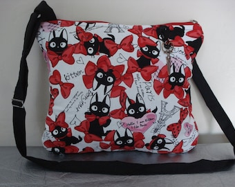 bag shoulder bag cats