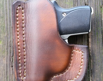 brown pocket Seecamp holster