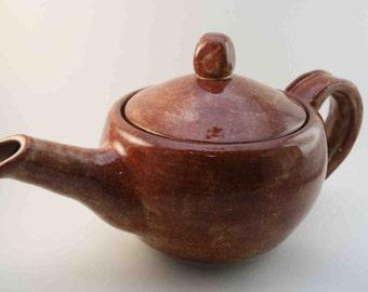 Natural Rust Teapot