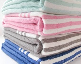 30% OFF Authentic Bath/Beach Fouta Towel Turkish Towel,Bath Towel,Beach Towel,Striped,Tassel,Hammam,Bath Towel Natural Cotton