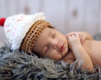 Cutie Cupcake Hat