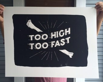 Too High Too Fast Poster
