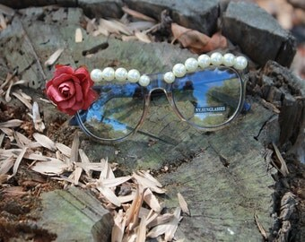 Classy Lady Custom Eyeglasses (Made to Order)