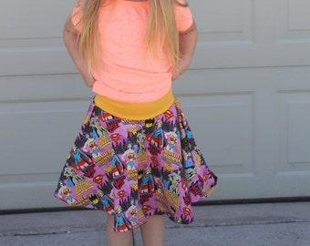 Skirt, Leggings, Shorts PDF sewing pattern for girls, tweens, and teens