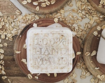 Organic Honey Oatmeal Soap Bar