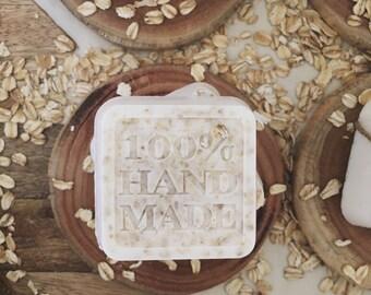 Organic Honey Oatmeal Soap Bar