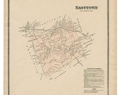 Easttown, PA Witmer 1873 ...