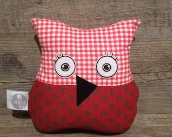 OWL Doudou red autumn