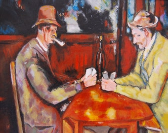 The card (from Cézanne) players