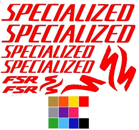 Specialized Decals Fsr X 11 Specialized Bike Stickers Frame