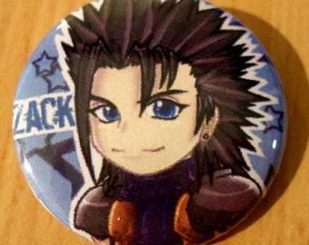Final Fantasy VII Chibi Zack Strife badge