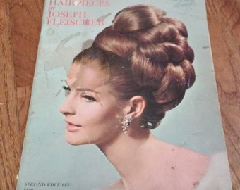Vintage Wig and Hair Piece Book