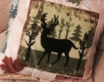 Autumn Animal Print Pillow