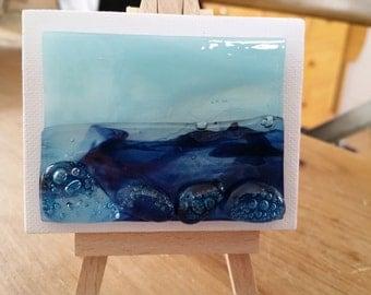 Glass Seascape on Canvas - Mini