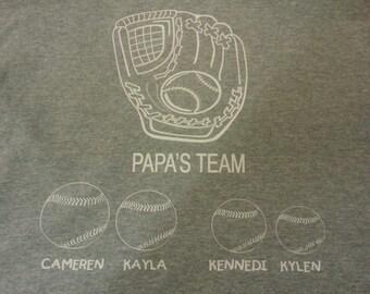 Grandfather Baseball Shirt