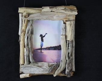 Picture frames from driftwood, driftwood, Naturdeko, handmade