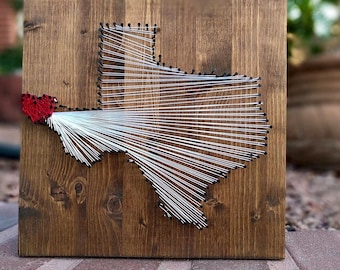 MADE TO ORDER-State String Art