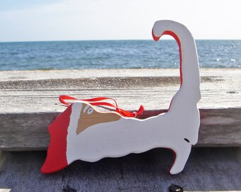 Cape Cod Santa Ornament